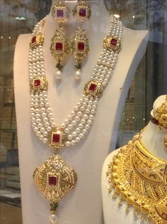 Gold Jewellery Design, Bead Jewellery, Pendant Jewelry, Beaded Jewelry, Jewelery, Pakistani Bridal Jewelry, Indian Jewelry, Bridal Jewelry Sets, Wedding Jewelry