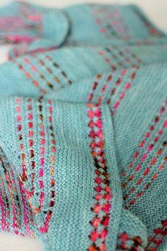 Ravelry: Dual Carriageway pattern by Casapinka Knitting Stitches, Knitting Yarn, Hand Knitting, Knitting Patterns, Crochet Patterns, Knitted Afghans, Knitted Blankets, Crochet Shawl, Arm Crocheting