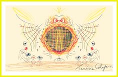 'Abstract wings of light' by Teresa Calaprice, via Behance