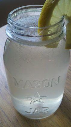 Lemon Honey Electrolyte drink