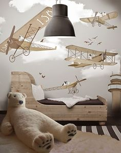 little hands: Little Hands Wallpaper Mural - Flying