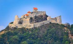 Cetatea Rupea din orasul Rupea - flickr