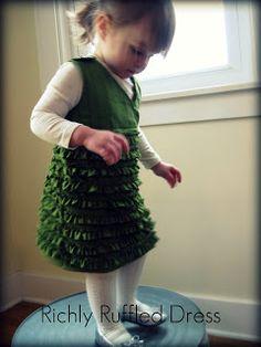 A Jennuine Life: Richly Ruffled Dress