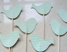 DIY Mint Green Photo Booth Props- Love Birds #GHDPastels