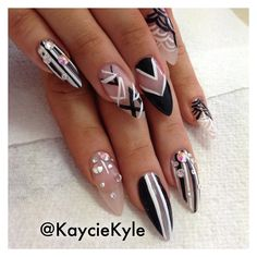 Carla's Boutique: Add patterns and texture to your nails to jazz up your one coloured bodycon dress. #nails