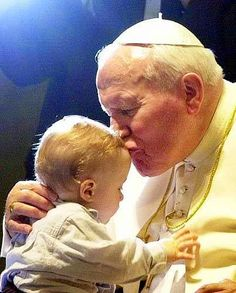 Pope John Paul II reiterated the Catholic teaching that abortion is murder and Catholics cannot cooperate in it in his 1995 encyclical letter Evangelium Vitae. Saint Jean Paul Ii, Pope John Paul Ii, Saint John, Papa Francisco, Catholic Saints, Roman Catholic, Catholic Religion, Papa Juan Pablo Ii, Blessed Mother