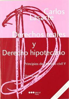 Principios de derecho civil. T. 5, Derechos reales y derecho hipotecario / Carlos Lasarte Álvarez
