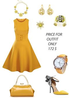 How to style spring outfit in yellow