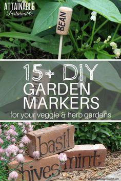 These DIY garden mar