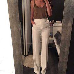 24.Yüksek Bel Pantolon Kombin