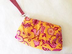 Pink Peony Bag PDF Pattern and Tutorial - shoulder bag/clutch/wristlet