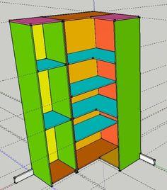 Fermeture d'un dressing en angle (4 messages) - ForumConstruire.com