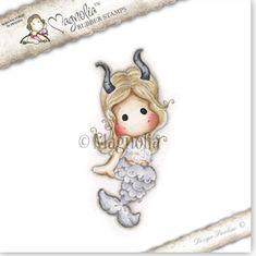 Magnolia Stamps - Capricorn Tilda Zodiac 2014