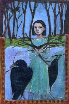"""Pick Up Sticks""  by Ann Willey"