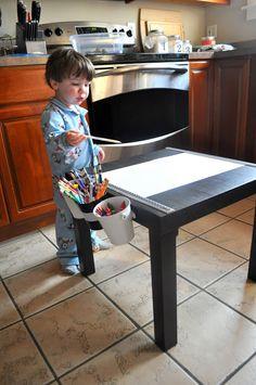 Art Table - Ikea Lack Table