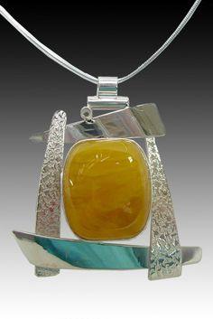 Amber Pendant by Aaron