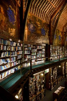 bibliotheca-sanctus:    The Oxford Union Library, Oxford, Great...