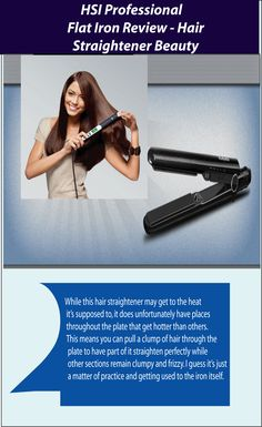 HSI Professional Flat Iron is the most adorable iron among the girls. It has some great features in low price. Discover why people like its additional features.