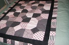 Pretty in Pink Baby girl Quilt
