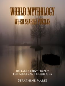 World Mythology Word Search Puzzle Book   NOW AVAILABLE from Amazon.
