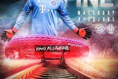 Polémica en Italia con un cartel del Bayern - Juventus