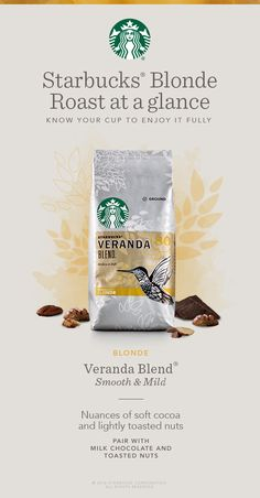 Blonde-roasted coffees like Veranda Blend, have a shorter roast time, lighter body and mellow flavors. In fact, getting the perfect balance took us more than 80 tries to get it right. Mellow and flavorful with a nice softness. Veranda Blend is perfect for those looking for a smooth, mild, and flavorful morning coffee.