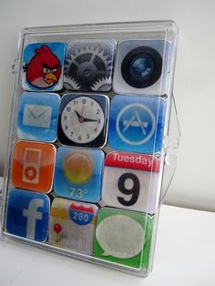 Tus Apps favoritas del Iphone en imanes