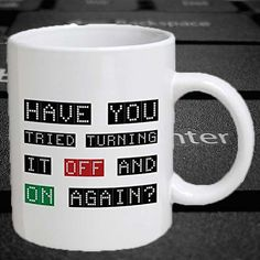 Computer Geek Mug #Under-$50 #Gifts-For_Geek-Gifts #Gifts-For_The-Techie