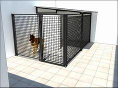 Diy dog run gate ideas Dog Habitat, Diy Dog Run, Diy Dog Shampoo, Modern Dog Houses, Dog Kennel Designs, Dog Hotel, Dog Area, Dog Runs, Dog Daycare
