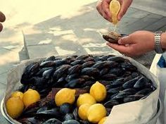 Midye Dolma Mussels Turkish Street Food