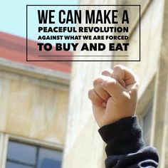 Join the revolution. Grow your own food.