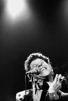 Tom Waits, by christian rose