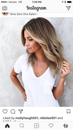 Are you looking for blonde balayage hair color For Fall and Summer? See our collection full of blonde balayage hair color For Fall and Summer and get inspired! Balayage Blond, Hair Color Balayage, Fall Balayage, Bayalage, Blonde Color, Good Hair Day, Love Hair, Baliage Hair, Corte Y Color
