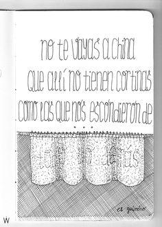 El Guincho - Bombay #lettering #handlettering #lyrics