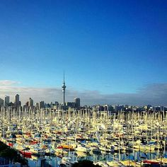 Auckland harbour by Mike Yela