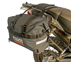 ATG Overlander saddlebags - The only motorcycle bags with a Lifetime warranty Motorcycle Equipment, Motorcycle Luggage, Motorcycle Camping, Camping Gear, Ducati Enduro, Honda Africa Twin, Side Car, Motorcycle Saddlebags, Bike Bag