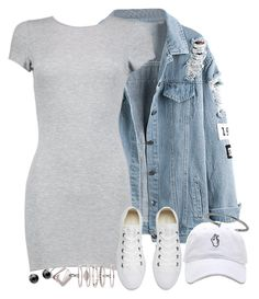 """Untitled #1037"" by manoella-f on Polyvore featuring Boohoo, Converse, Mies Nobis, Luv Aj and CC SKYE"