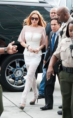 Lindsay Lohan's Latest Court Outfit:
