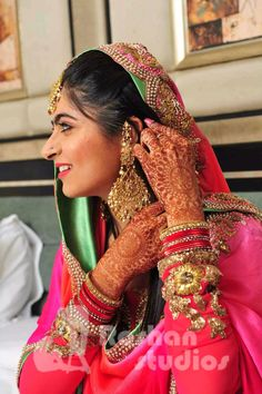 Indian jewellery, earings