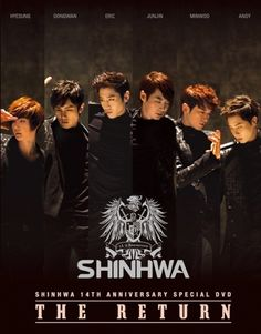 Shinhwa ♡ Eric Mun, Lee Min-woo, Kim Dong-wan, Shin Hye-sung, Jun Jin and Andy Lee