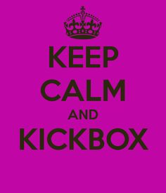I REALLY want to start kickboxing, but a class doesn't start until January!