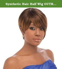 Synthetic Hair Half Wig OUTRE Quick Weave Cap Ali Color 1. Self Styled In 60 SecondsChoose from the selections of beautiful, trendy and popular styles. Close to 100 styles available and more to come ...-Blends with your own hair for fullness without bulk. Change styles as often as you like in just a minute-Better than a wig. Blends with your own hair quickly-Better than a weave. Can be done anywhere, anytime by you, without help-Lets you be you. Use quick weave to allow your hair to…