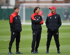 Capital One Cup: the Liverpool FC backroom boys who will stand alongside Klopp at Wembley Liverpool Fans, Liverpool Football Club, Liverpool England, Assistant Manager, Team Coaching, Capital One, Long Shot, Fa Cup, One Team