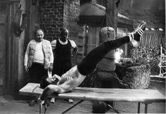 Rocky IV training