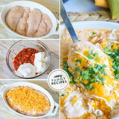 This Creamy Salsa Chicken is a family favor. This Creamy Salsa Chicken is a family favorite for an easy Tex-Mex meal! The tender chicken is covered with a velvety mixture of salsa, sour cream, and two Salsa Chicken, Chicken Flavors, Baked Chicken Recipes, Steak Recipes, Cooker Recipes, Ramen Recipes, Fudge Recipes, Turkey Recipes, Crockpot Recipes