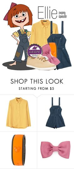 """""""Ellie~ DisneyBound"""" by basic-disney ❤ liked on Polyvore featuring MANGO, Alice McCall, Disney and Keds"""