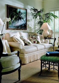 """furniture-meubles:  """"Hickory Chair Furniture Co.  Ladylike Luxury.  """""""
