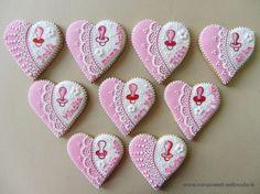 Krst, Prijímanie, Birmovka/christening :: IVANA sweet Christening, Food And Drink, Cookies, Christmas Ornaments, Holiday Decor, Babyshower, Sweet, Cupcake, Hearts