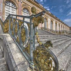 EARLY ROCCOCO - Le Grand Trianon - Palace of Versailles - France - built by Louis XIV - constructed 1670-1708, architects Louis Le Vau; Jules Hardouin Mansart