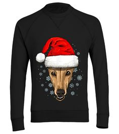 Greyhound Santa Hat Christmas Boys Girls Xmas Gift T-Shirt (Organic Sweater Unisex - Black) #christmasgnome #christmascoco #christmaspillow christmas cards, 2020 christmas trends, 12 days of christmas ideas, christmas decorations, thanksgiving games for family fun, diy christmas decorations Christmas Ring, Black Christmas Trees, Ribbon On Christmas Tree, Christmas Trends, Christmas Pillow, Christmas Photos, Christmas Sweaters, Diy Christmas, Christmas Decorations